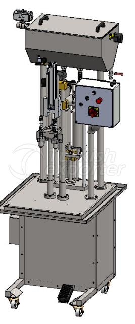 Manuel Dual Liquid Filling Machine