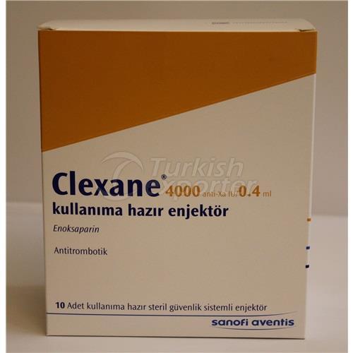 CLEXANE 4000 ANTI-XA 0.4ML 10 INJEC