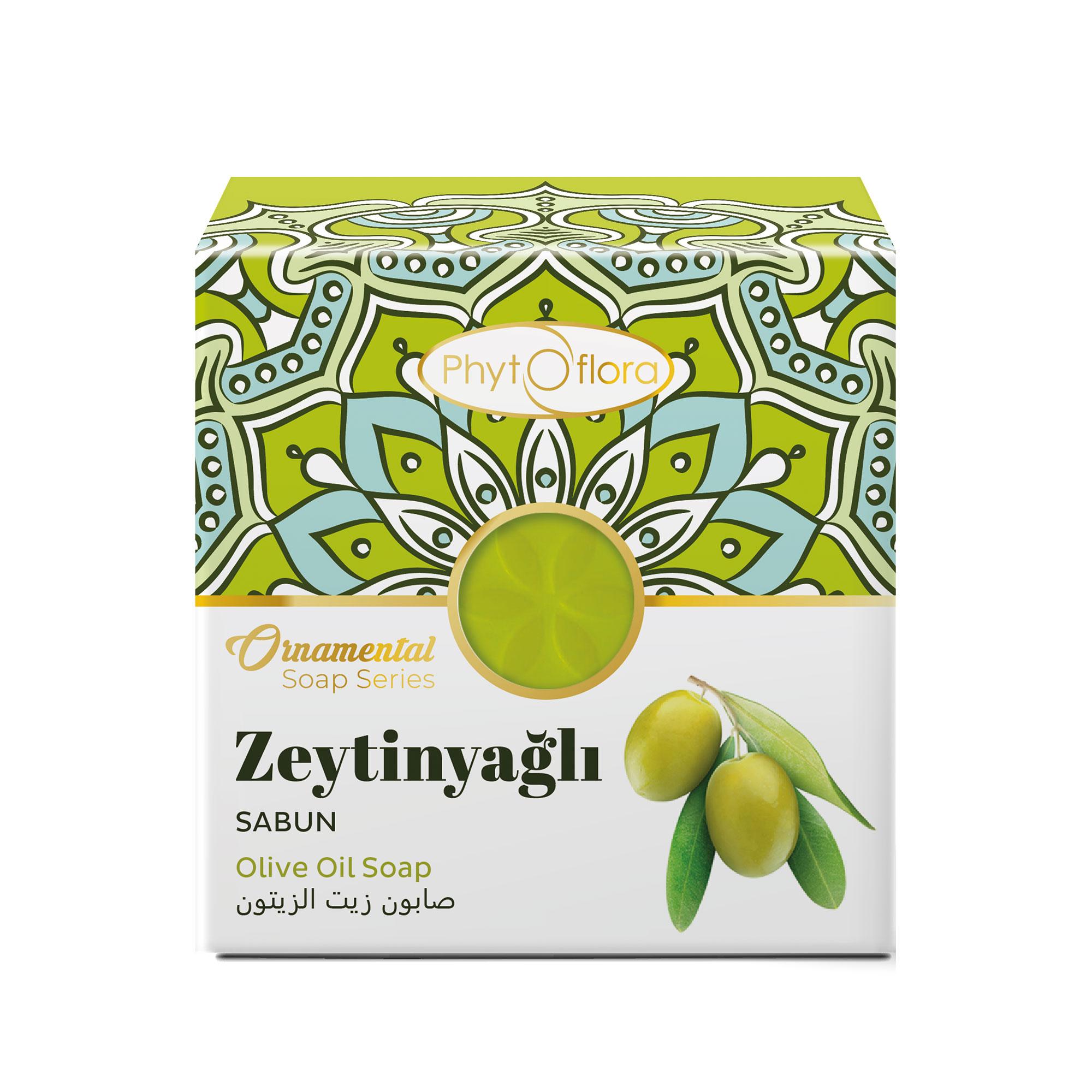 olive oil herbal soap - ornamental soap series