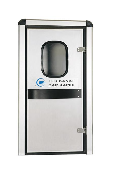 Single Wing Flip Flap Service Door