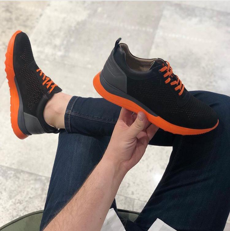 Sport leather shoes