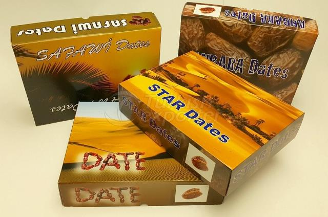 Corrugated Dates Box