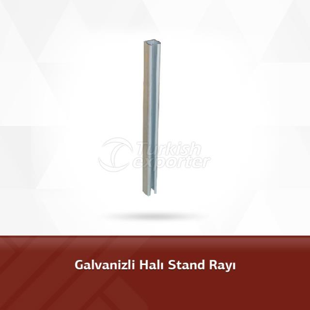 Galvanized Carpet Stand Rail