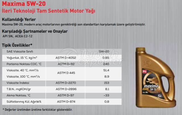 Maxima 5W-20