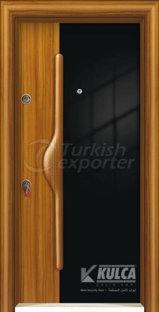D-2004 ( PVC STEEL DOOR )