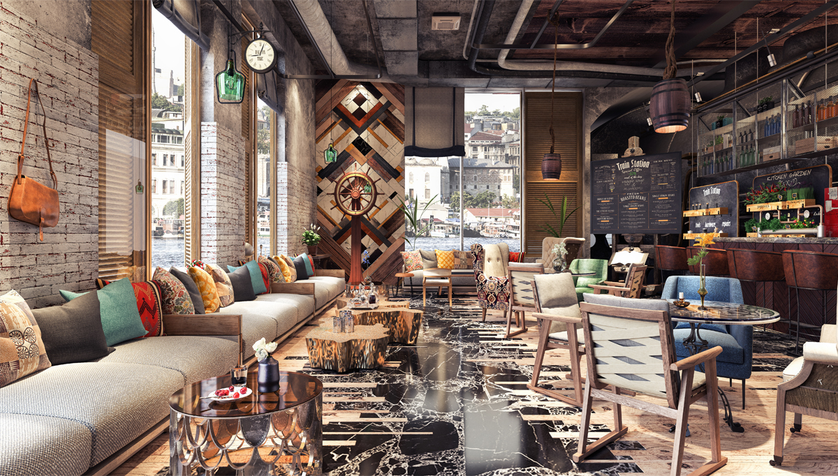 Cafe and Restaurant Mobilyası - Private
