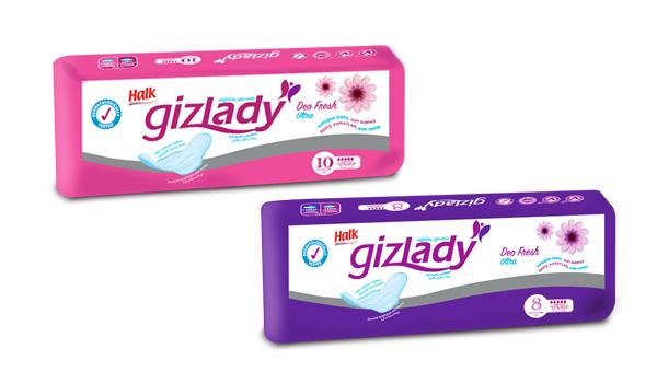 Gizlady Hygienic Pad