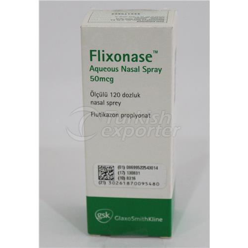 FLIXONASE AQUA 50 MCG SPRAY