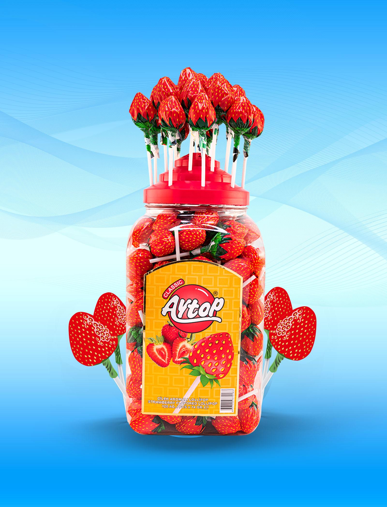 Aytop Strawberry Shape