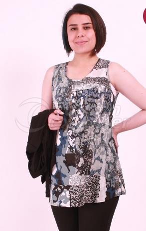Maternity Wear Binary Chiffon Tunic