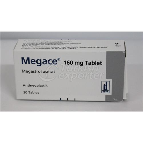 MEGACE 160 MG 30 TABLETS