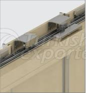 Sliding Wardrobe System 3 Door With Soft Closer M02 8220 3K