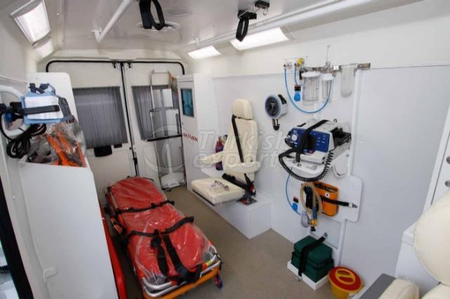 Ambulance de transport de patient