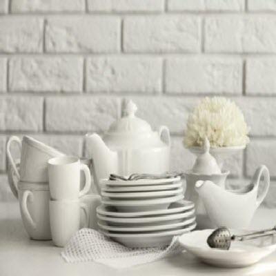Porcelana - Vajilla de cerámica