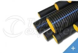 125mm Corrugated Pipe