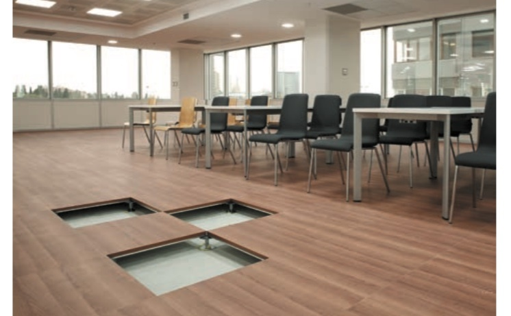 Raised Access Flooring Systems -Calcium Sulphate Core Panels