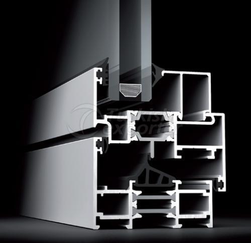Puertas de aluminio de 66 W Windows