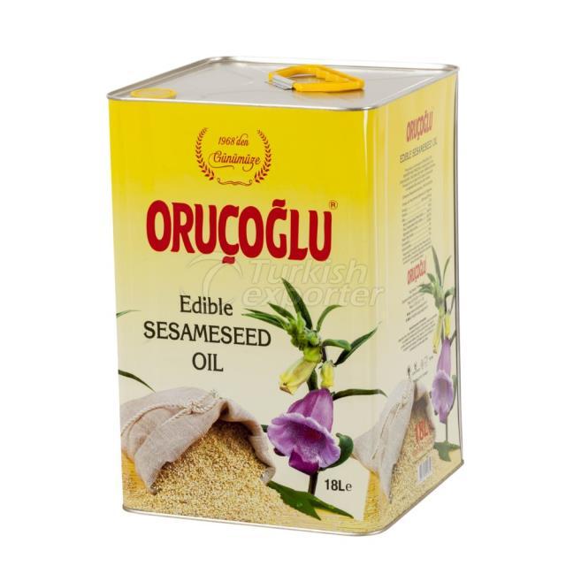 Aceite comestible de semillas de sesamo 18lt