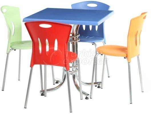Cantine - Chaises de jardin