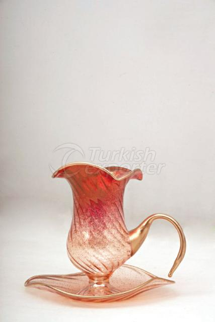 Pink Candle Holder 1MEL-P014