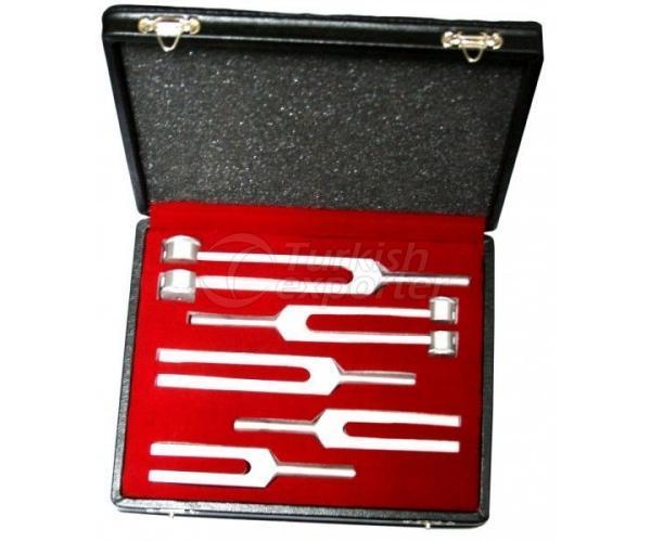 Aluminium Tuning Fork Set