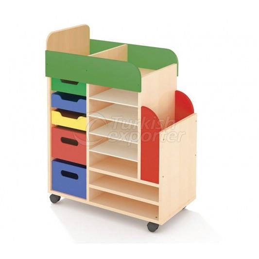 Coloured Paper Cabinets