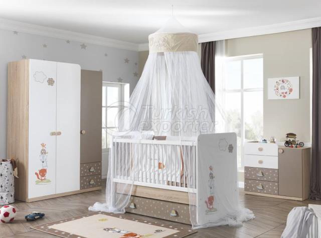 Chambre de bébé Carino