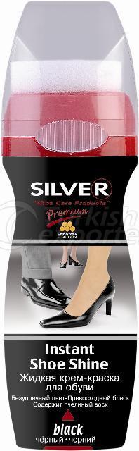 Premium Instant Shoe Shine Liquid Polish- 75 m