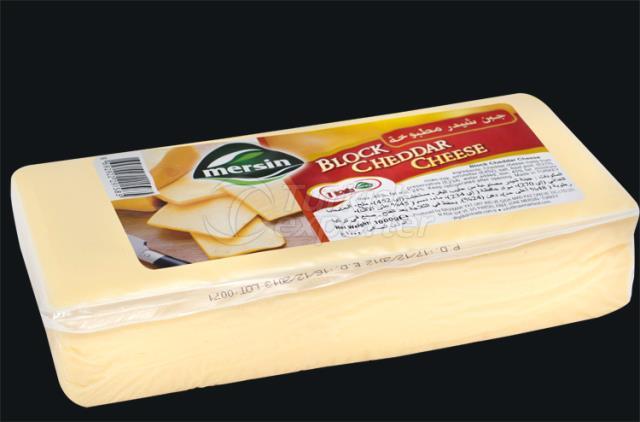Mersin Block Cheddar Cheese 1000 gr