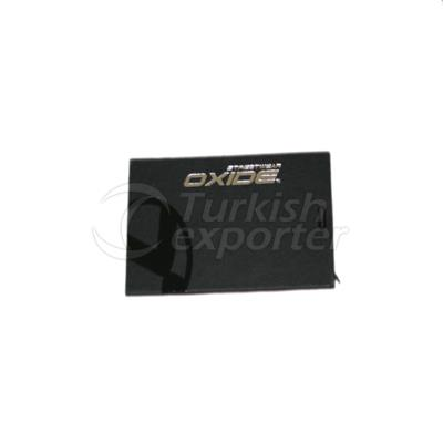 Oxide Cardboard Label