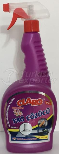 Claro Oil Cleaner 750ml Flower