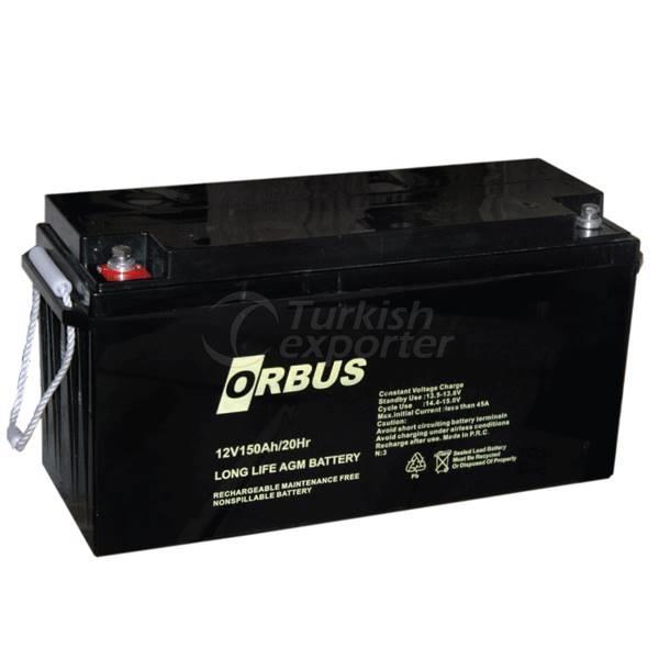 Orbus baterías de gel 12V1