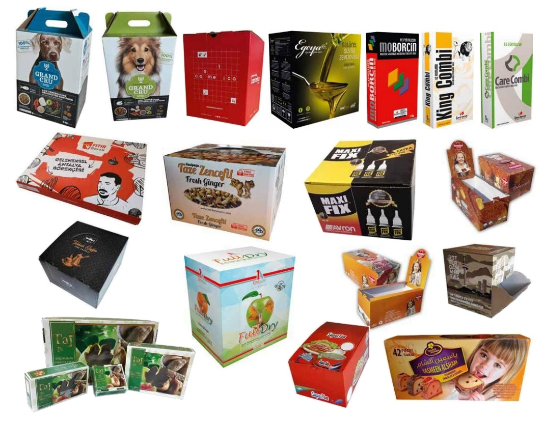 Corrugated Laminated Boxes-Parcels