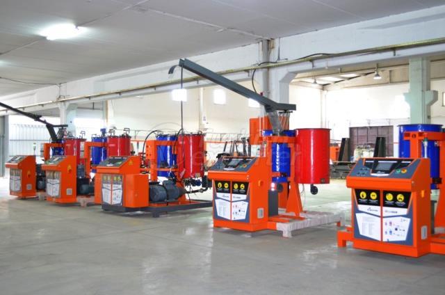 Máquinas de Injeção de Poliuretano