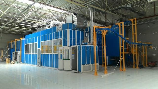Combination Booth (Spray & Oven)