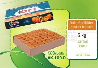 Apricot seco Sulphureous AK 109 D 5kg