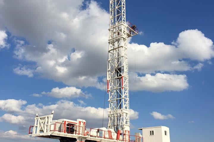 Geothermal Drilling Rig 1500-2500M CAPACITY