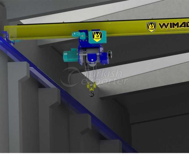 Single Beam Monorail Crane