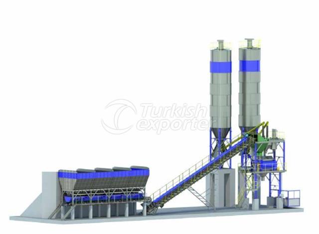 MRM 135 S Stationary Concrete Plants