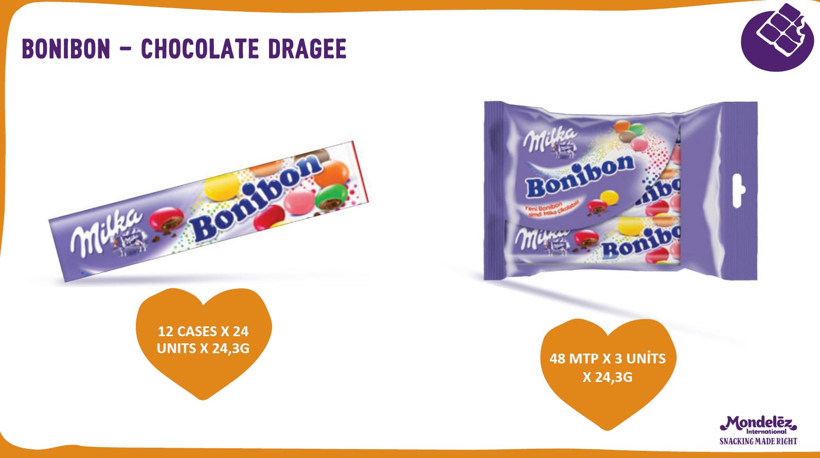 BONINOB - CHOCOLATE DRAGEE