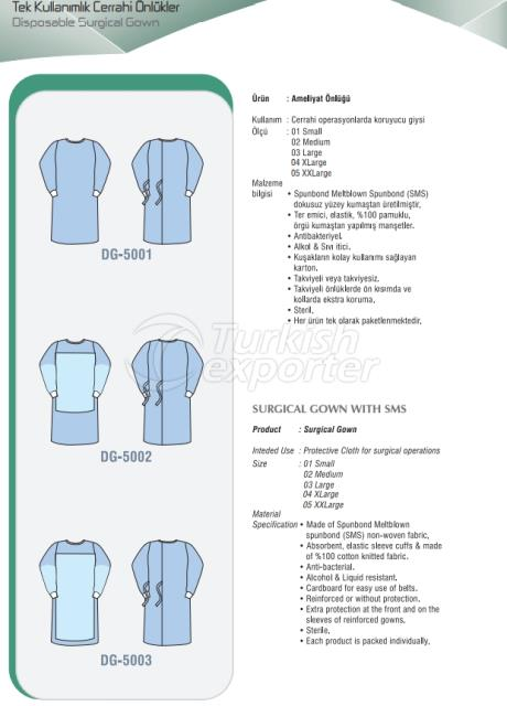Disposable Surgial Gown