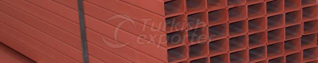 Primed Painted Rectangular Box Profiles