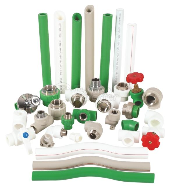 PPRC Pipes and Fittings