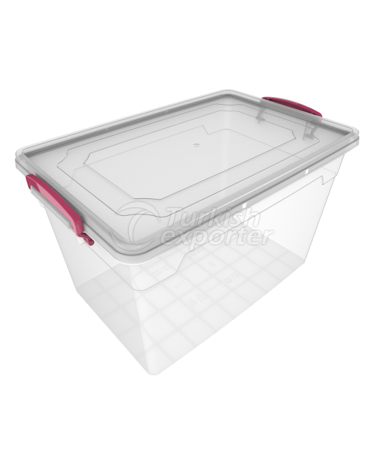 Storage Box 30 lt /transparent