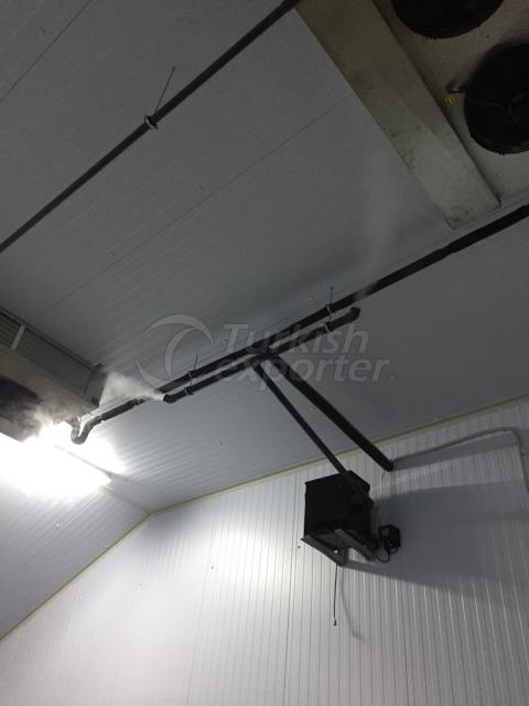 Sistemas de humidificación por ultrasonidos