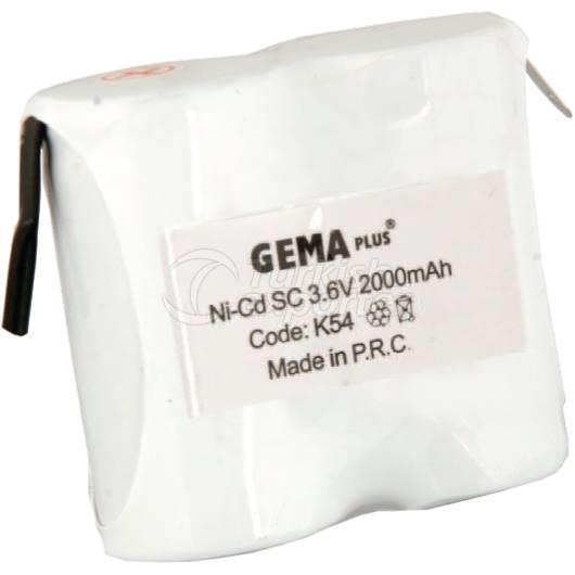 Batteries pour aspirateur K52