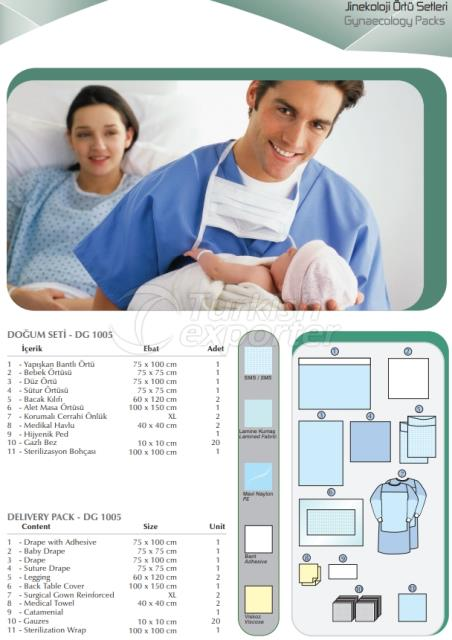 Gynaecology Packs