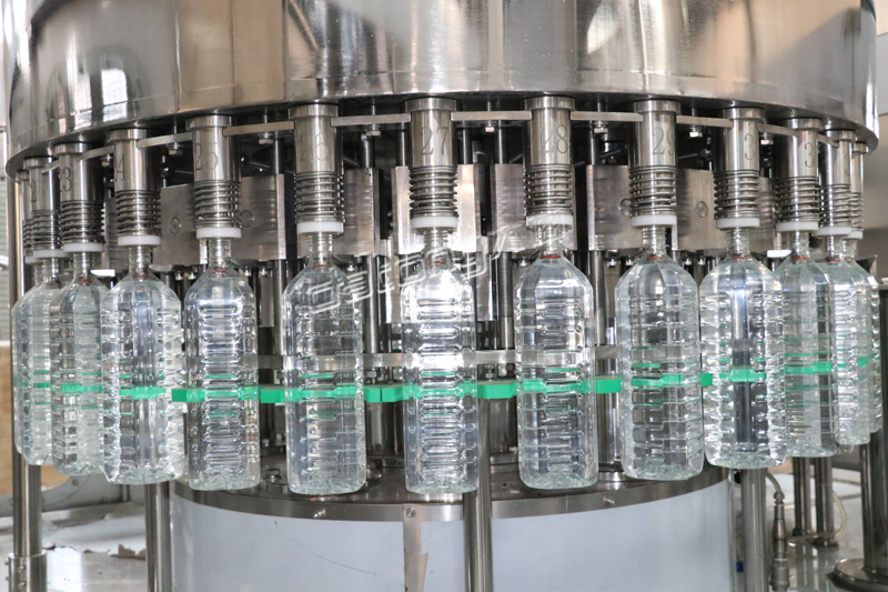fully automated bottling plants for the liquids
