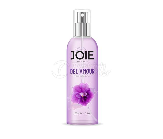 JD1 De L'amour For Women Body Mist