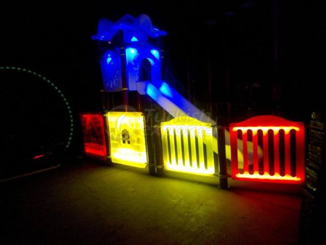Light Children Playground Equipment